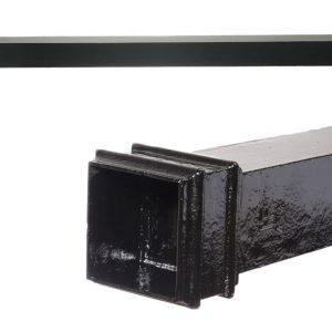 Cast Iron Square Pipe 75x75mm (Plain)