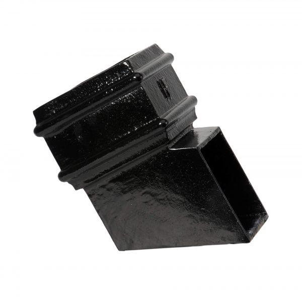 75x75mm Square Plain Shoe PX Black