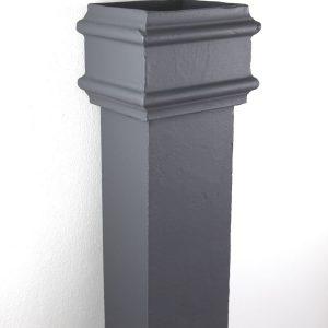 Cast Iron Rectangular Pipe 100x75mm Plain Pipe 1829mm RT4301