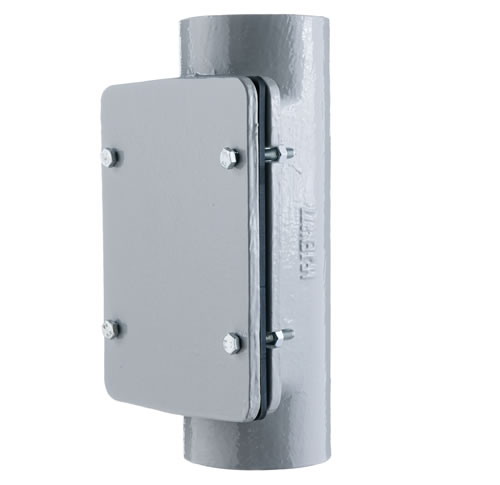 Access Pipe with Rectangular Door [HD]