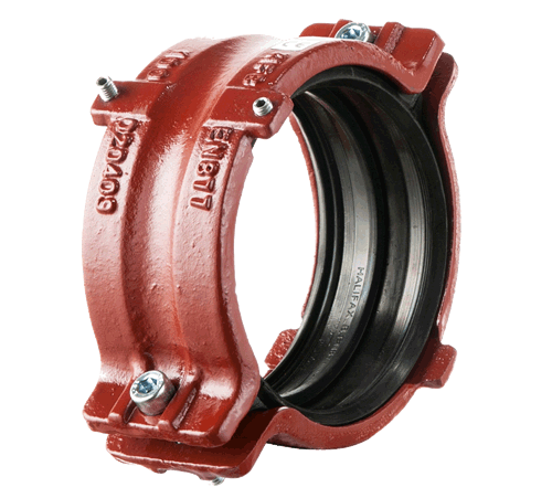 BSEN877 Compliant Cast Iron Soil System - Ductile Iron Coupling with Continuity