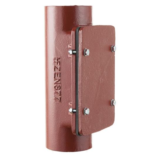 Access Pipe with Rectangular Door [HS]
