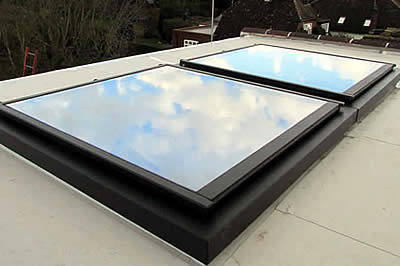 Glazed Flat Rooflight