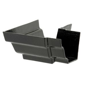 Cast Iron H16 Moulded Gutter External Sq Angle