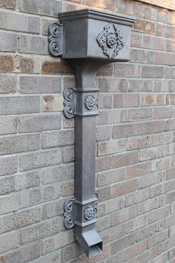 Ornate Lead Pipe
