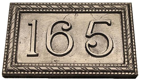 Lead Plaque