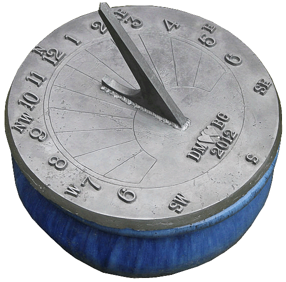 Lead Sundial Personalised