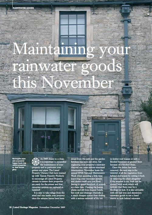 Rainwater Brochure