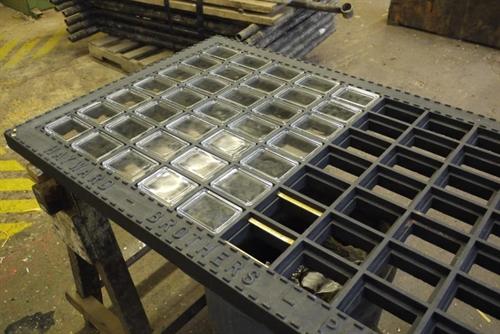 Bespoke Cast Iron Cellar Lights