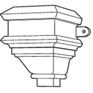 Cast Iron Ornamental Hopper Head H37
