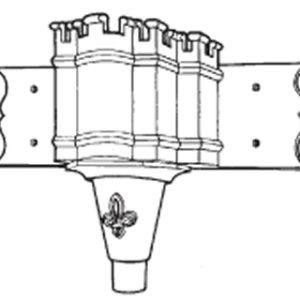 Ornamental Head H499