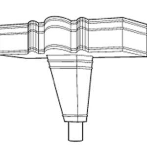 Cast Iron Ornamental Rainwater Head H511