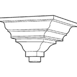 Cast Iron Ornamental Rainwater Head H513