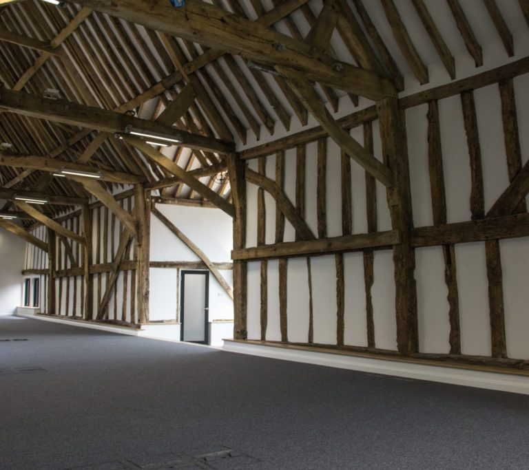 Grade II Listed Timber Frame Barn