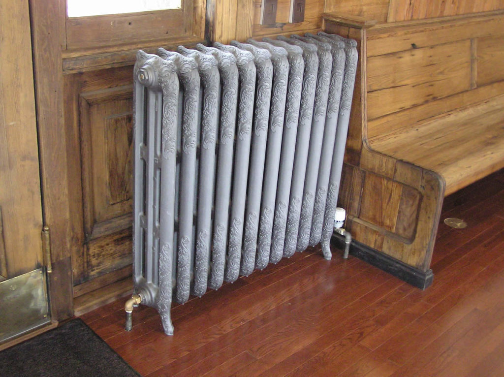 Cast Iron Nouveau Radiator
