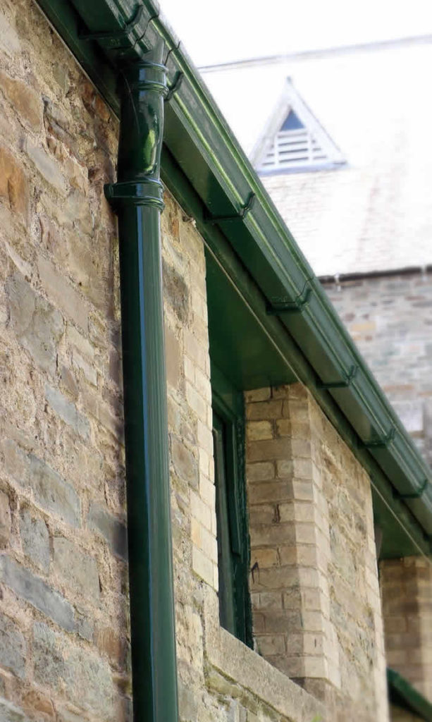 Tuscan Conservation Guttering
