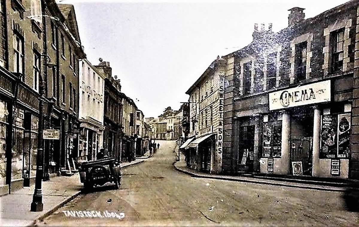 The Corn Market Cinema Palace Tavistock