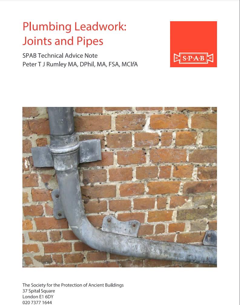 Plumbing Lead Work Joints