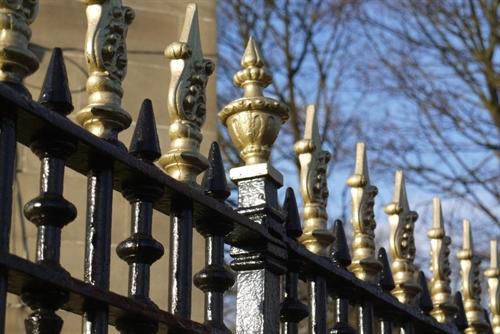 Ornate Cast Iron Railings