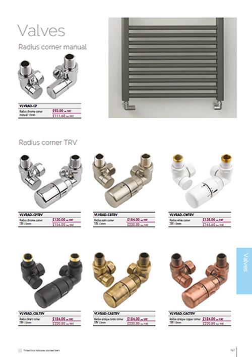 Radiator Valves Brochure 2020