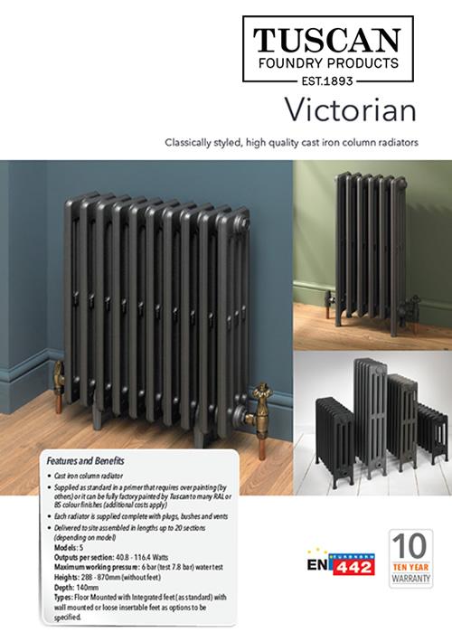 Victorian Cast Iron Radiator Brochure 2020